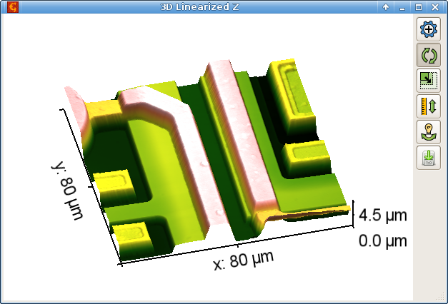OpenGL 3D Data Display